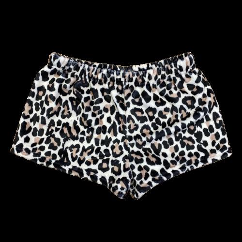 OG Leopard Fuzzy Shorts