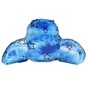 Blue Star Fuzzy Boyfriend Pillow