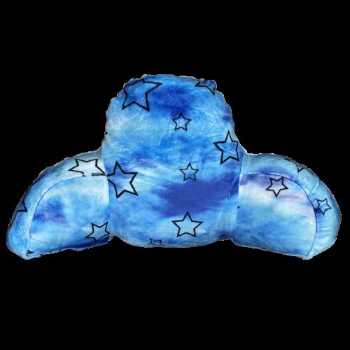 Blue Star Fuzzy Boyfriend Pillow