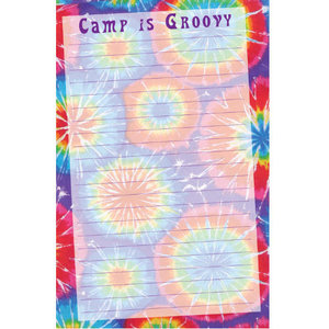 Camp is Groovy Notepad