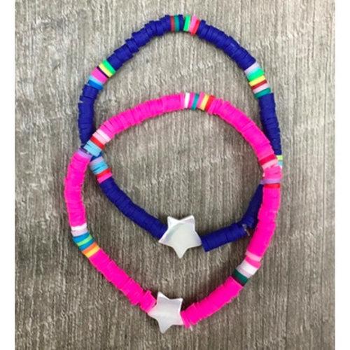 Rainbow Bright Star Bracelet