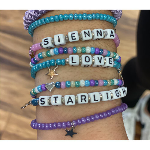 Camp Love Bracelet Stack