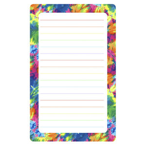 Tye Dye Lined Notepad
