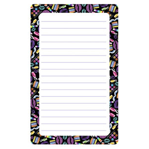 Makeup Lined Notepad