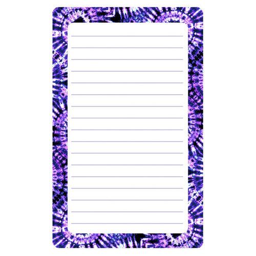 Purple Swirl Lined Notepad