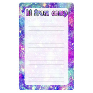 Stardust Lined Notepad