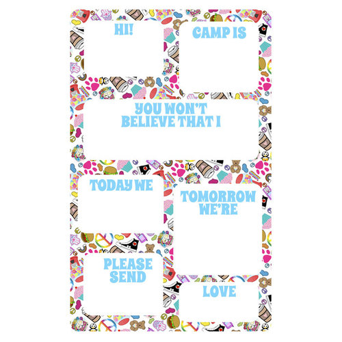 Groovy Fill-In Notepads
