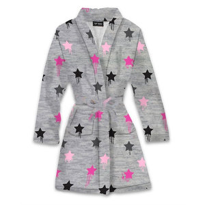 Dripping Stars Fuzzy Robe