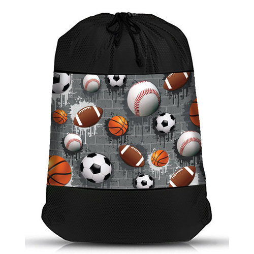 Sports City Mesh Laundry Bag