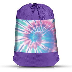 Ice Tie Dye Mesh Laundry Bag
