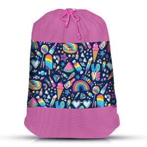 Funfetti Mesh Laundry Bag