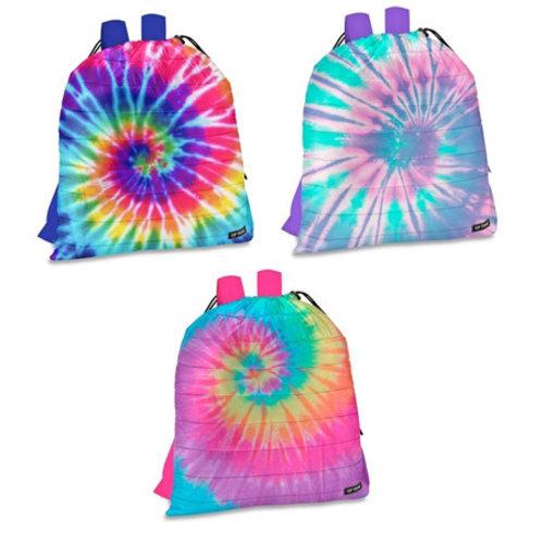 Tie Dye Puffer Sling Bag