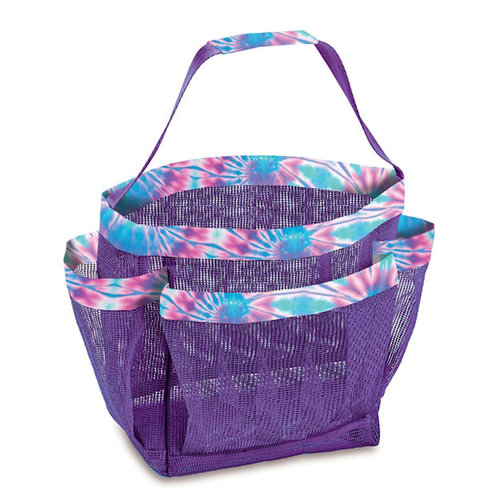 Ice Tie Dye Mesh Shower Caddy