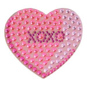 XOXO Heart StickerBean