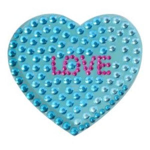 Love Heart StickerBean