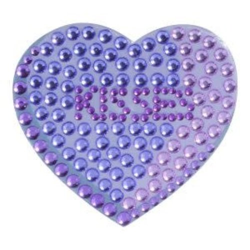 Kisses Heart StickerBean