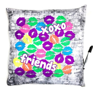 XOXO Friends Autograph Pillow