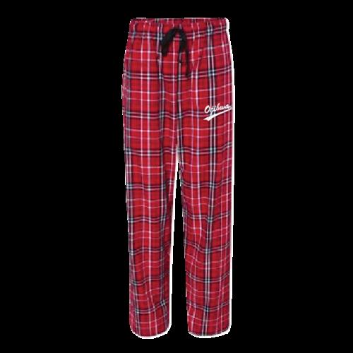 Camp Ojibwa Flannel PJ Pants