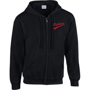 Camp Ojibwa Black Zip-Up Sweatshirt