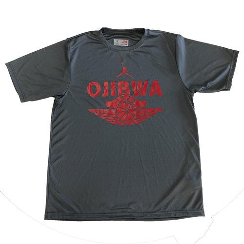 Camp Ojibwa Jump Man Performance Shirt