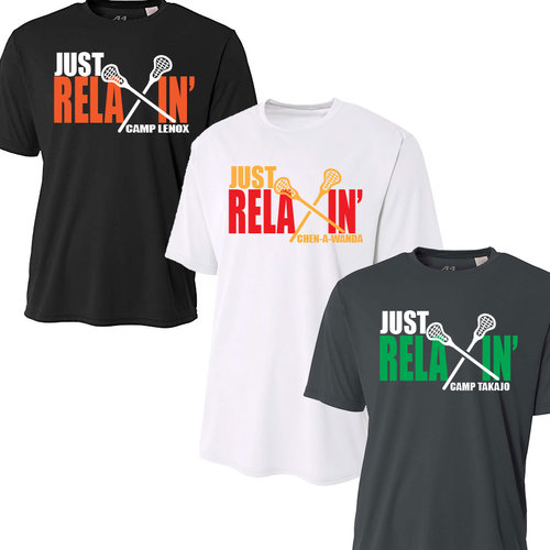 Just Relaxin' Camp Performance T-Shirt