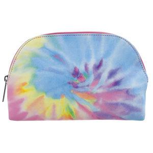 Pastel Tie Dye Cosmetic Bag