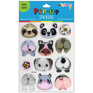 Zoo Animals Pop Up Stickers
