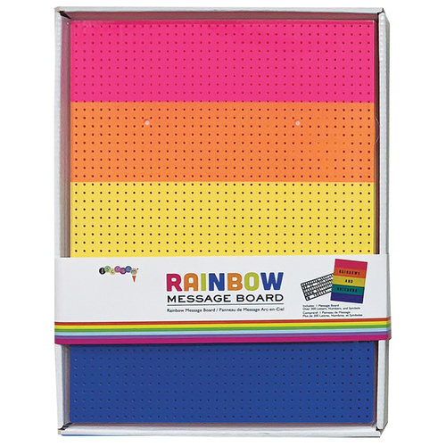 Rainbow Message Board