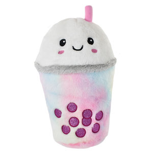 Bubble Tea Sparkly Pillow