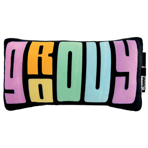 Retro Groovy Autograph Pillow