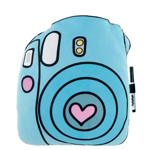 Camera Autograph Pillow