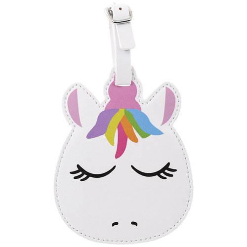 Pretty Unicorn Luggage Tag