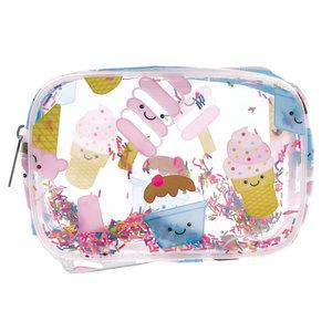 Ice Cream Treats Clear Cosmetic Bag