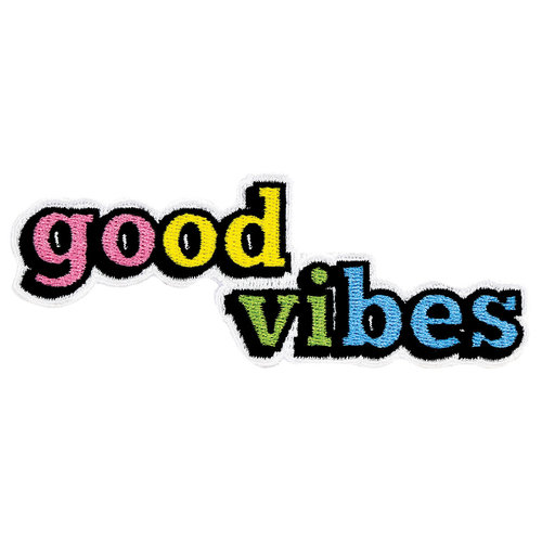 Good Vibes Sticker Patch