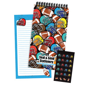 Football Designs Seal & Send
