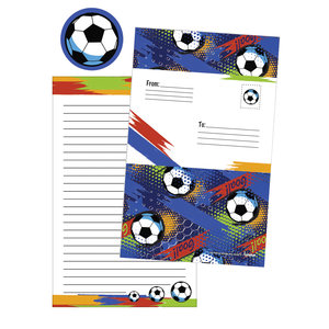 Graffiti Soccer Foldover Cards