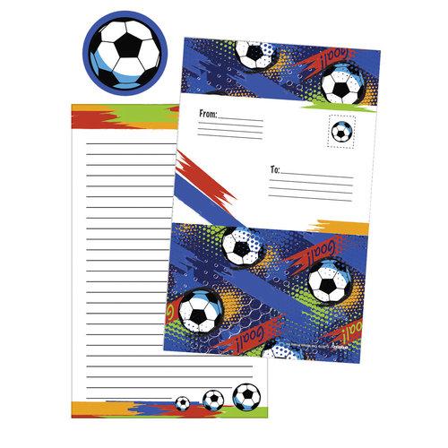 Graffiti Soccer Foldover Cards