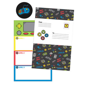Level Up Foldover Cards