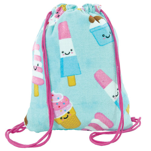 Ice Cream Treats Towel and Backpack