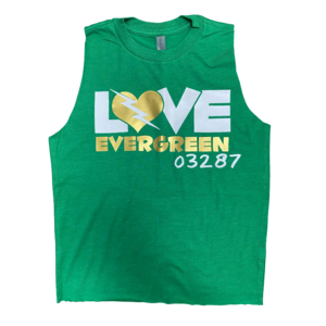 Love Bolt Camp Sleeveless Shirt
