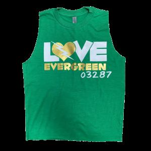Love Bolt Camp Sleeveless Shirt