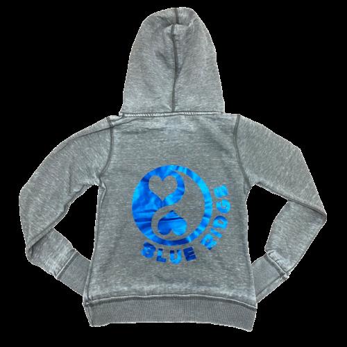 Heart Yin Yang Camp Zip-Up Sweatshirt