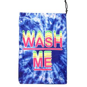 Blue Tie Dye Wash Me Mesh Laundry Bag
