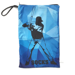 Baseball Kaleidoscope Sock Bag