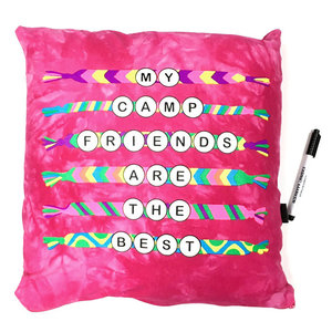 Camp Friendship Bracelets Autograph Pillow