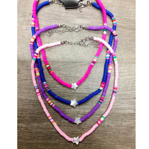 Rainbow Bright Star Necklace
