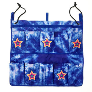 Blue Tie Dye Shoe Bag