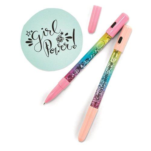 Girl Power Light Up Sparkly Pen