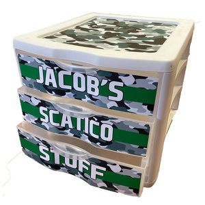 Camo Stripe Drawers