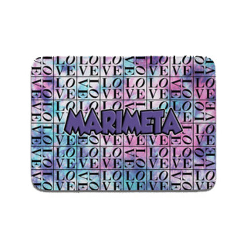 Camp Marimeta Tie Dye Love Mat